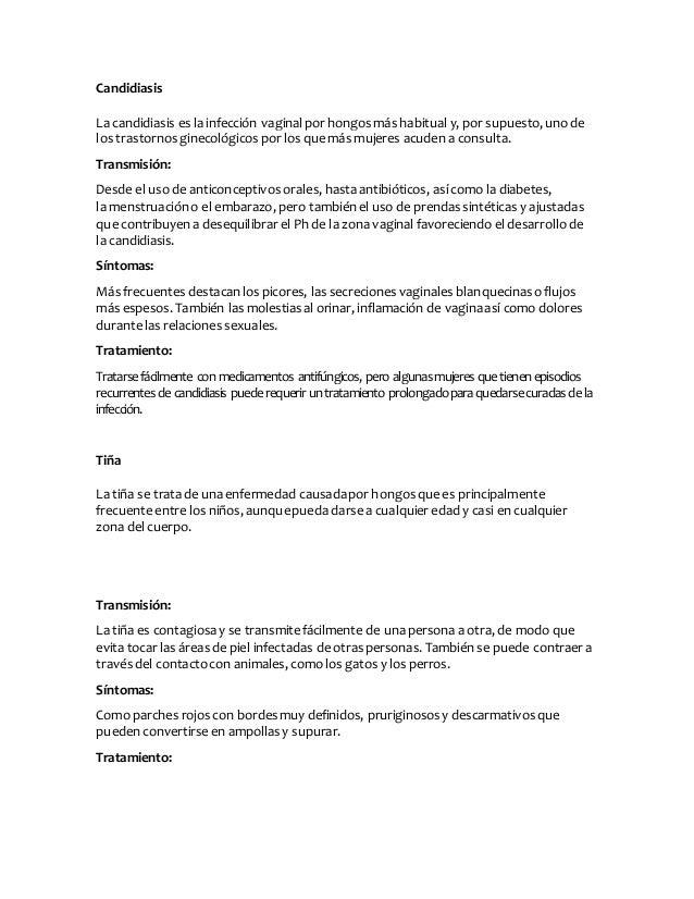 Agentes causantes de enfermedades for Piscina hongos genitales