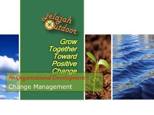 An OrganizationalDevelopment Change Management