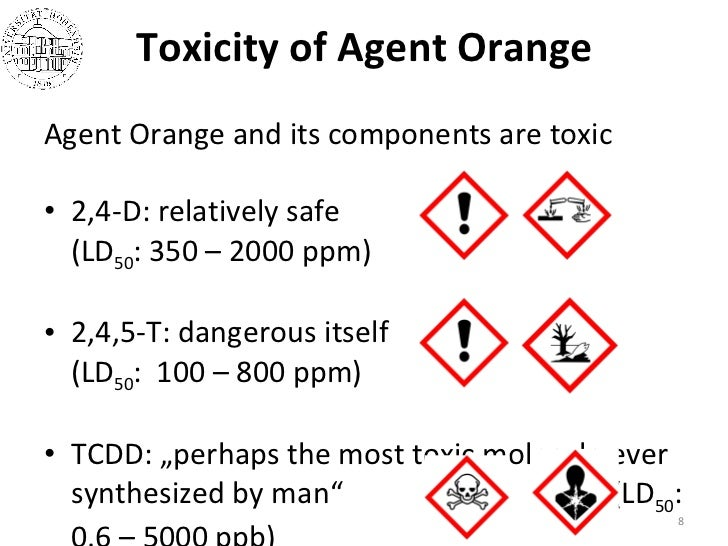 Agent orange or herbicide orange