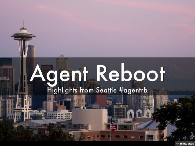 Agent Reboot Seattle Highlights