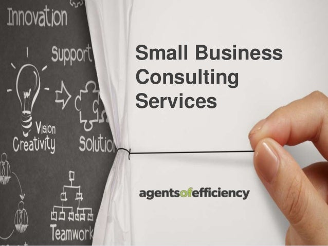Small Business Consulting Services | Agents of Efficiency