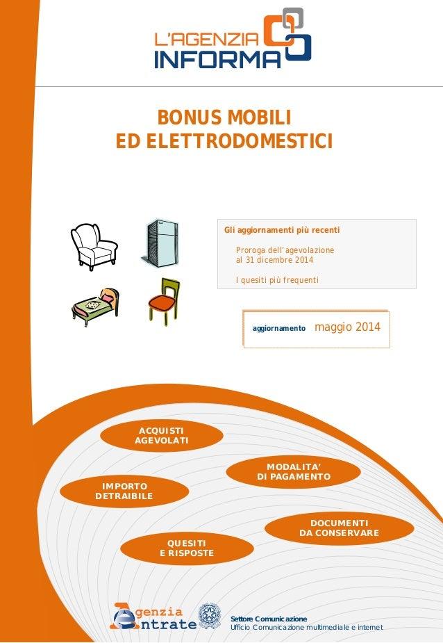 Guida agevolazioni fiscali acquisto mobili e elettrodomestici for Agevolazioni acquisto mobili