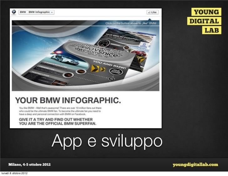 App e sviluppolunedì 8 ottobre 2012