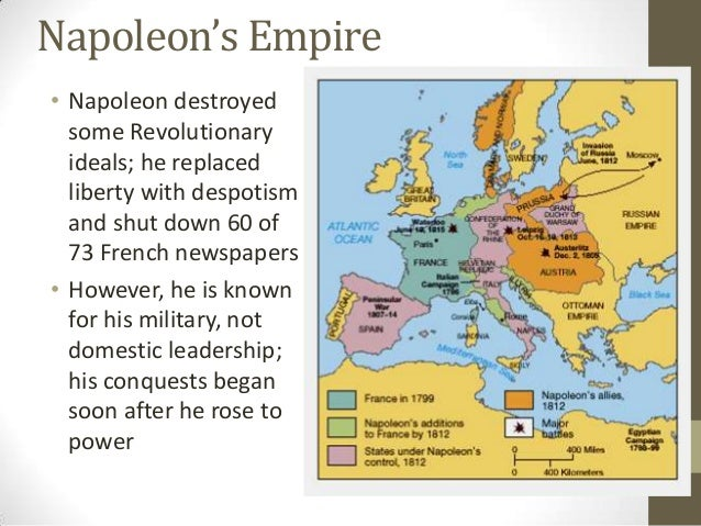 napoleon employed revolutionary ideals to consolidate his military dictatorship Napoleon bonaparte was born on august 15, 1769 in ajaccio on the mediterranean island of corsica through his military exploits and his ruthless efficiency, napoleon rose from obscurity to become napoleon i, empereur des francais (emperor of.