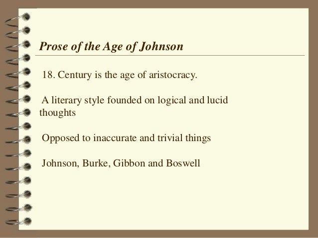 Age Of Samuel Johnson