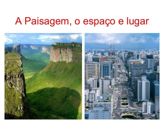 A geografia e a compreensão do mundo Slide 2