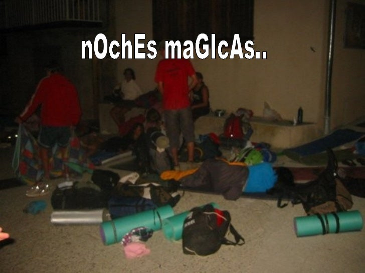 nOchEs maGIcAs..