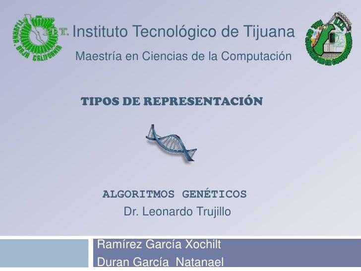 Ramírez García Xochilt<br />Duran García  Natanael<br />Instituto Tecnológico de Tijuana<br />Maestría en Ciencias de la C...