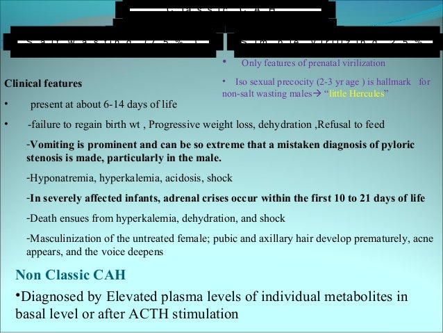 elevated 17-ketosteroids