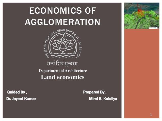 Read PDF Economics of Agglomeration