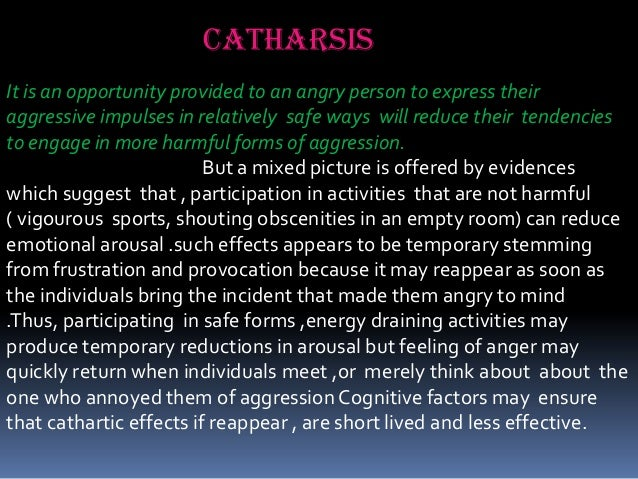 catharsis psychology