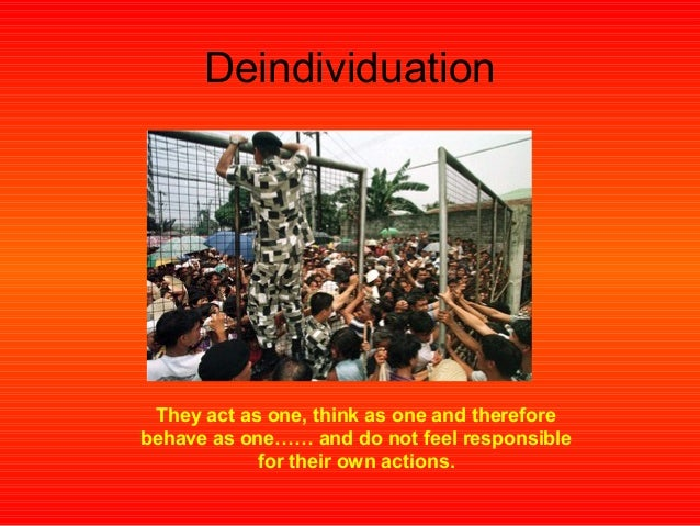 The Cultural Revolution and Deindividuation: A Case Study ...