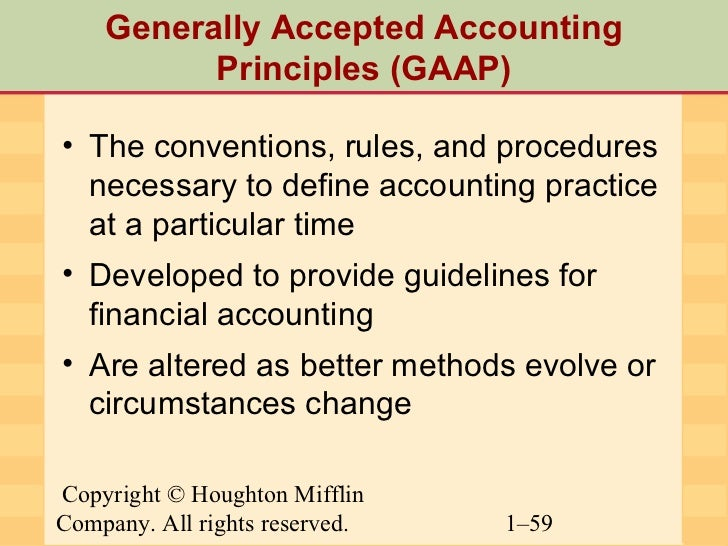 generally accepted accounting principles and net Learn more about the generally accepted accounting principles what are some good online resources for me to learn about generally accepted accounting net.