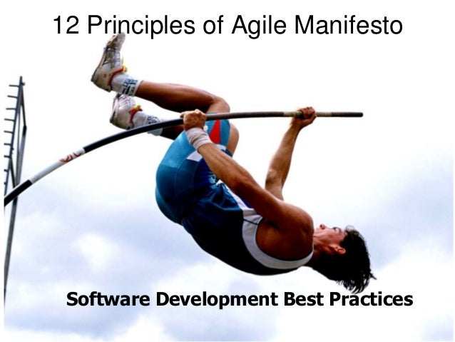 12 Principles of Agile Manifesto  Software Development Best Practices