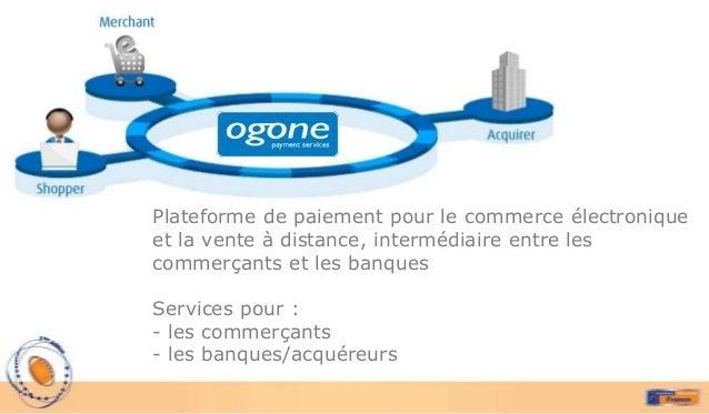 Plateforme de paiement pour le commerce électroniqueet la vente à distance, intermédiaire entre lescommerçants et les banq...