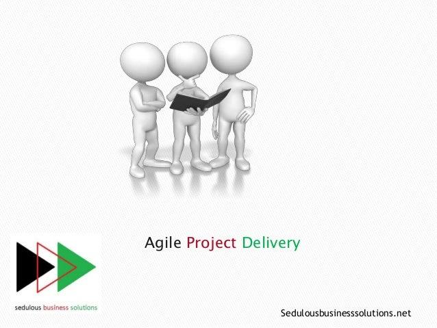 Agile Project Delivery Sedulousbusinesssolutions.net
