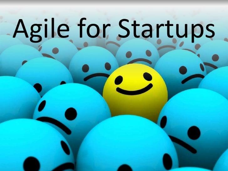 Agile for Startups<br />