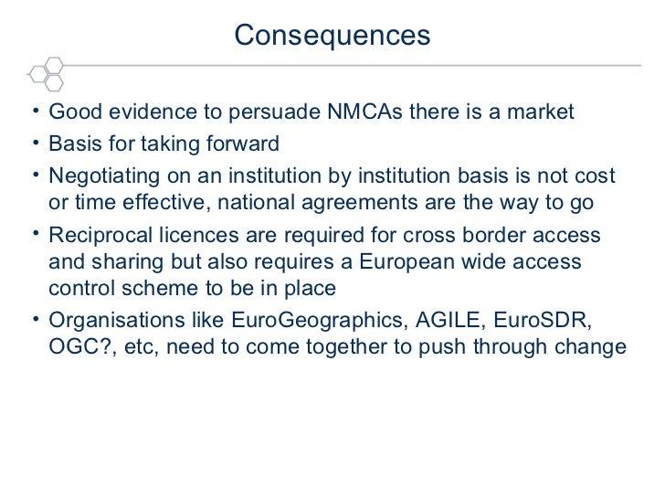 Consequences <ul><li>Good evidence to persuade NMCAs there is a market </li></ul><ul><li>Basis for taking forward </li></u...