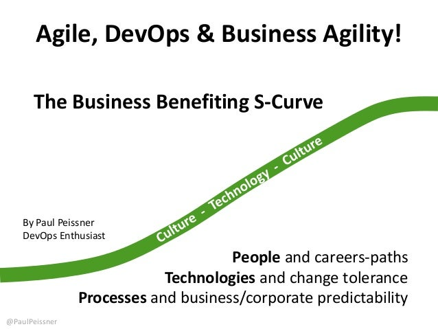 Agile, DevOps & Business Agility! People and careers-paths Technologies and change tolerance Processes and business/corpor...