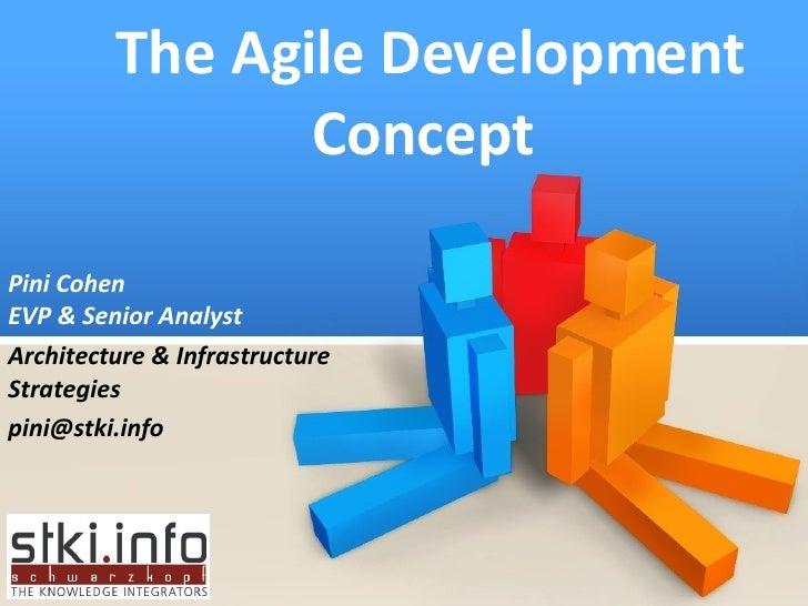 The Agile Development Concept  Pini Cohen EVP & Senior Analyst Architecture & Infrastructure Strategies [email_address]