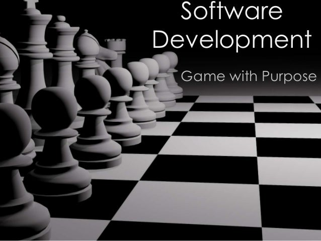 Software Development Game with Purpose