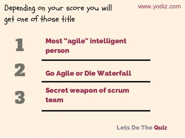 Agile Management - House of Cards Slide 3