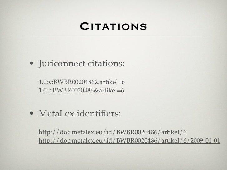 Citations• Juriconnect citations:  1.0:v:BWBR0020486&artikel=6  1.0:c:BWBR0020486&artikel=6• MetaLex identifiers:  http://d...