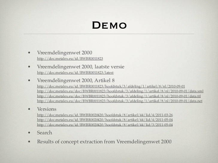 The MetaLex Document Server - Legal Documents as Versioned Linked Data