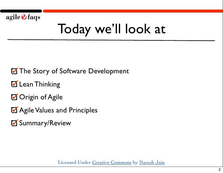 Agile Overview Slide 2