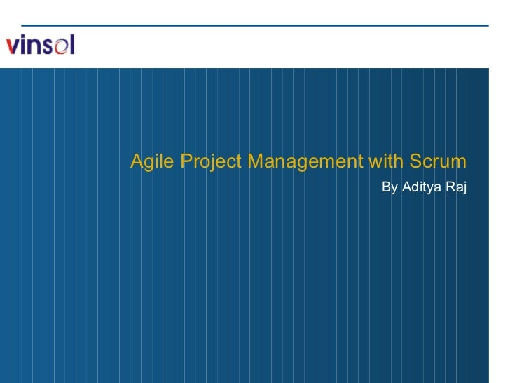 Agile Project Management with Scrum By Aditya Raj