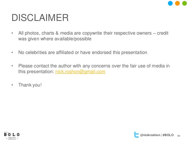 DISCLAIMER•   All photos, charts & media are copywrite their respective owners – credit    was given where available/possi...