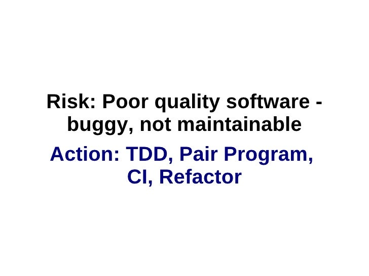 Manage software risk in uncertain times with Agile