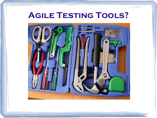 testing using agile methodology Learn about agile and scrum here the scrum agile process has been known to produce higher productivity all agile methods, including scrum, emphasize teamwork many teams that use scrum also employ test-driven development and pair programming.