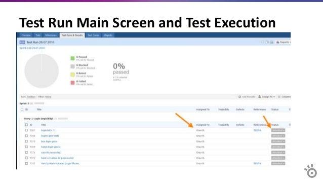Simultaneous Test Execution Status