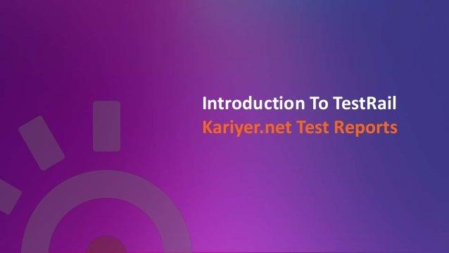 Sprint Test Status Report