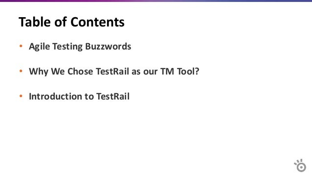 Agile Testing Buzzwords