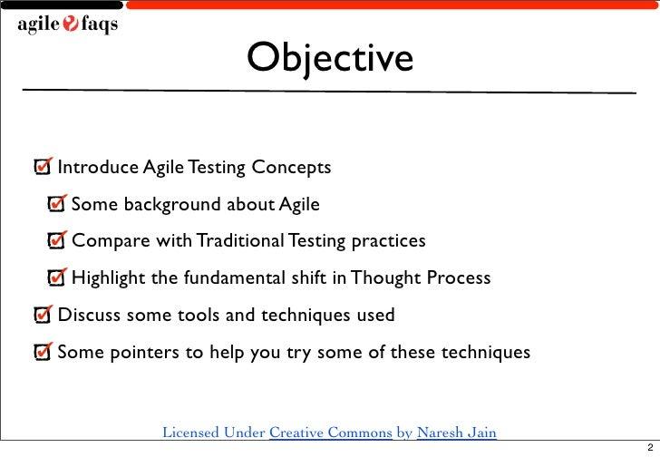 Agile Testing Slide 2