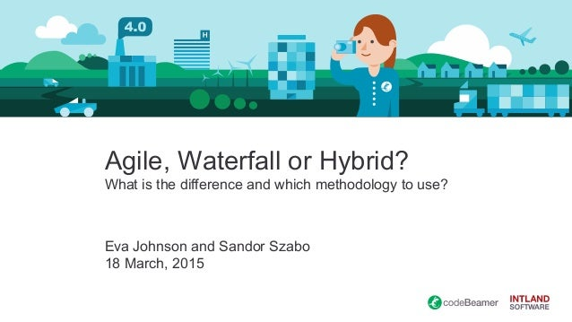 Webinar development with agile waterfall and agile for What is agile and waterfall