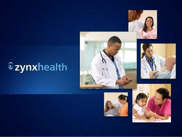 1 © 2011 Zynx Health Incorporated | The information contained herein is confidential and proprietary to Zynx Health Incorp...