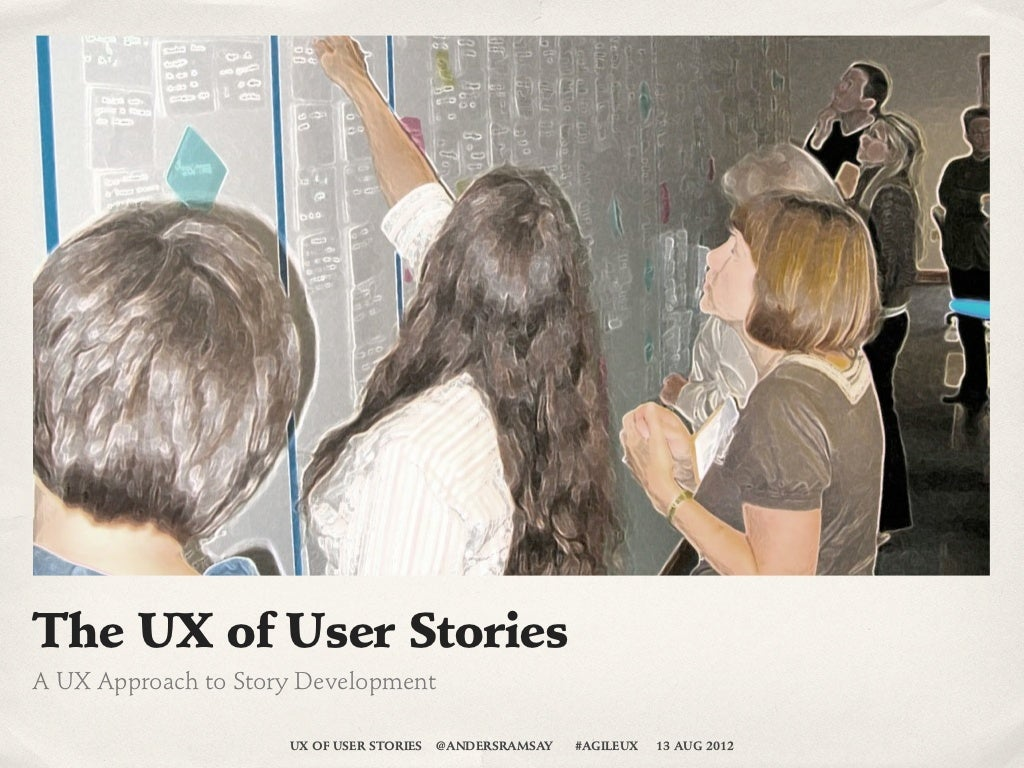 UX of User Stories Workshop