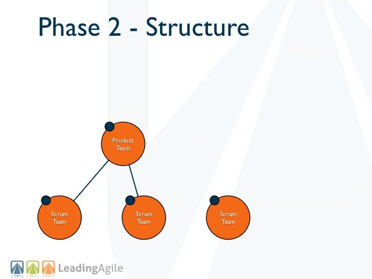 Phase 2 - Structure         Product          Team Scrum             Scrum   Scrum Team              Team    Team