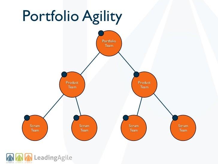 Portfolio Agility                           Portfolio                            Team         Product                     ...