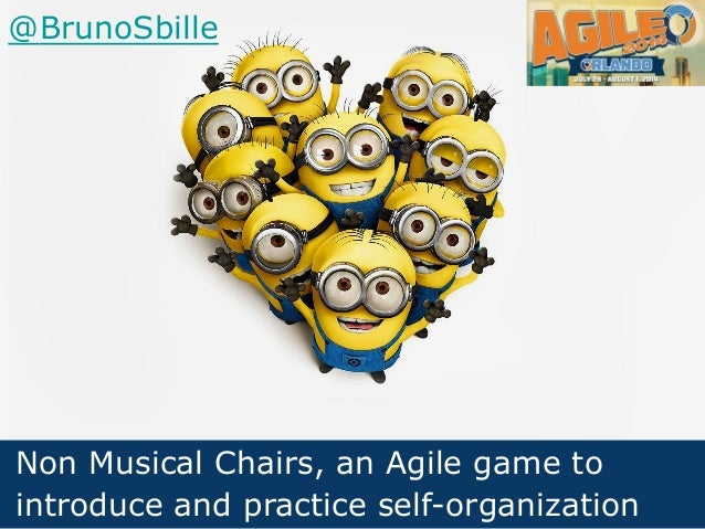 Non Musical Chairs, an Agile game to introduce and practice self-organization @BrunoSbille