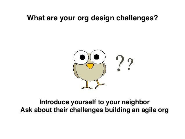 Agile2016: Design Your Agile Organization Using SOA