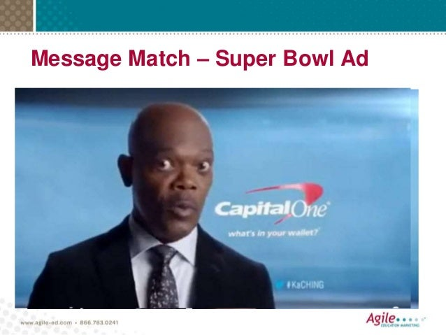 Message Match – Super Bowl Ad