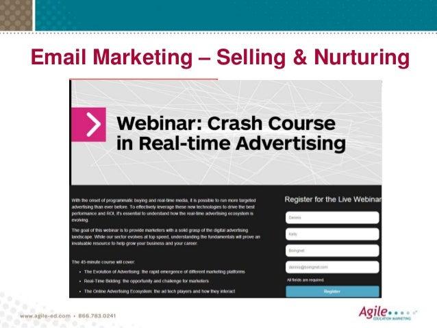 Email Marketing – Selling & Nurturing