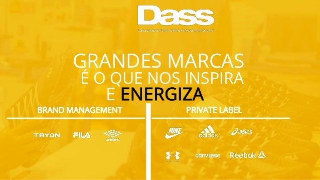 GRANDES MARCAS É O QUE NOS INSPIRA E ENERGIZA BRAND MANAGEMENT PRIVATE LABEL
