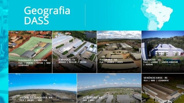 ELDORADO – ARGENTINA FILA | UMBRO | TRYON | NIKE | CONVERSE ITAPIPOCA - CE ADIDAS | REEBOK | TRYON ITABERABA - BA FILA | U...