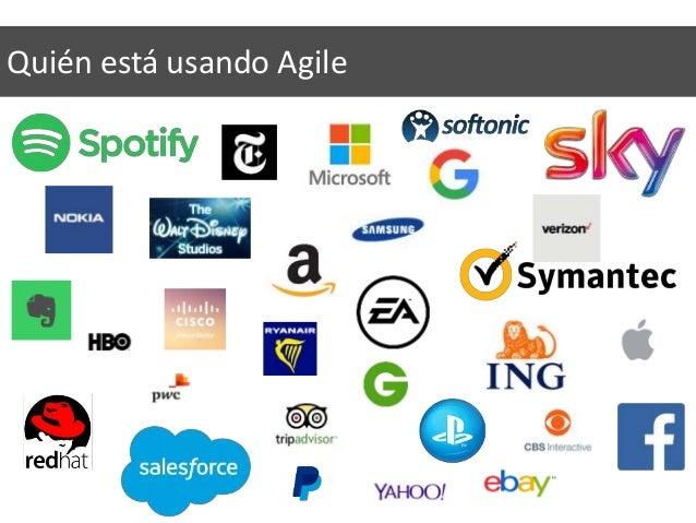Quién está usando Agile
