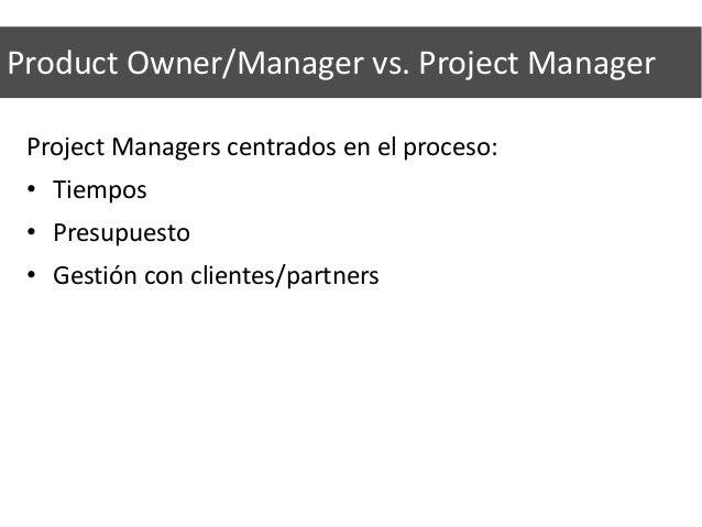 """Development Team • Definen e implementan el """"cómo"""" frente al """"qué"""" de los POs. Sólo trabajan en tareas añadidas por los PO..."""